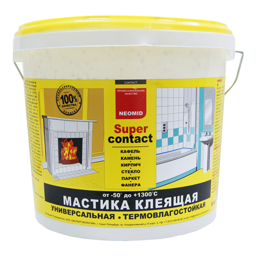 Мастика Neomid Supercontact 1.5 кг